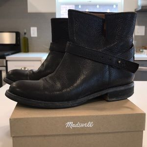Madewell leather boots